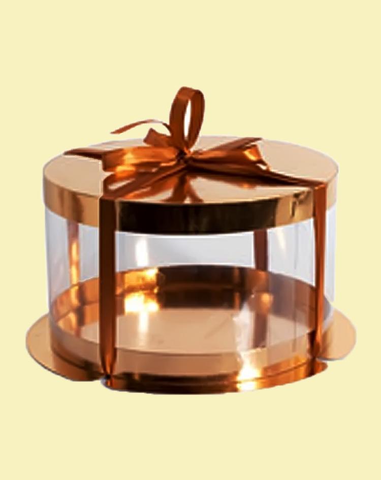Упаковка для торта круглая