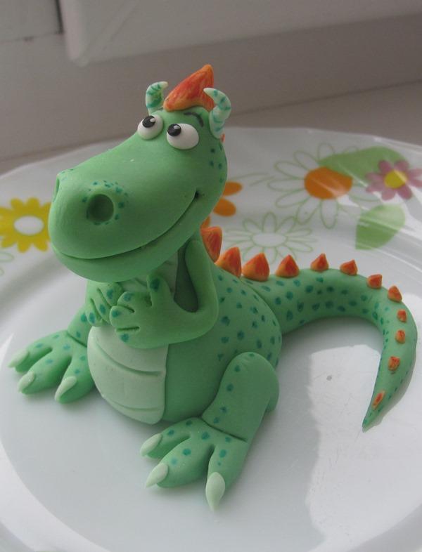 Как из мастики сделать динозавров 929