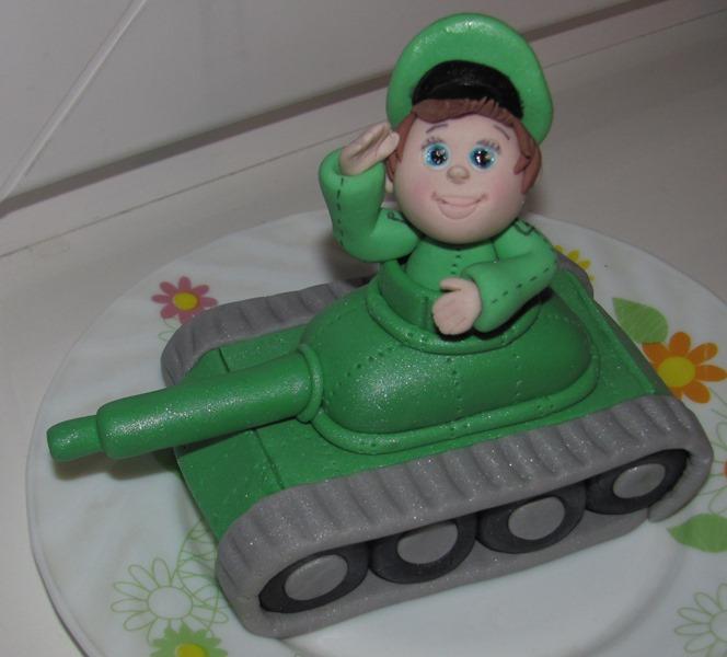 Торт танк из мастики мастер класс фото