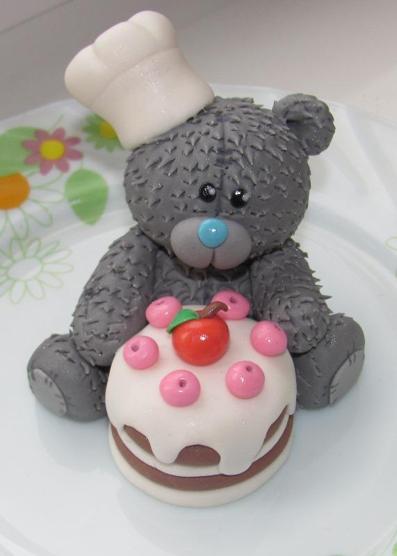 Как сделать из мастики торт мишка тедди