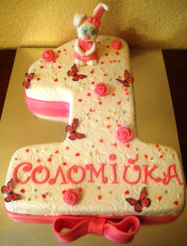 Торт на др ребенка 1 год своими руками