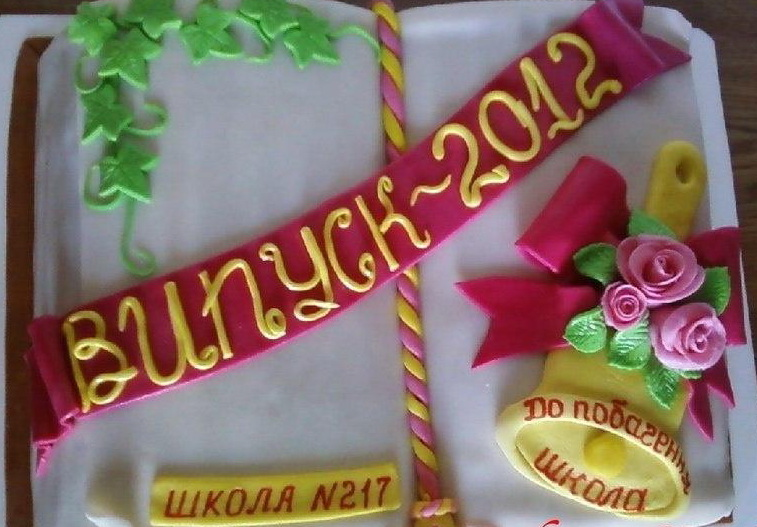 Тортики на выпускной фото