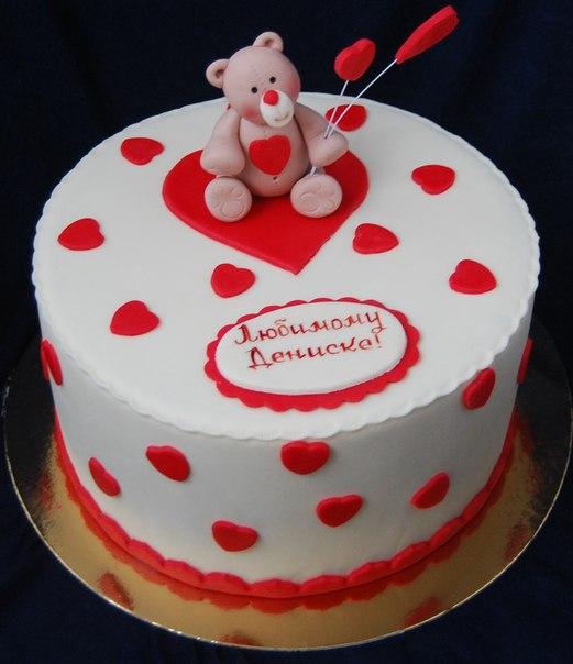 фото торт любимому