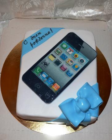 торт телефон фото