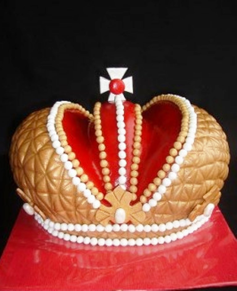 Торт корона фото