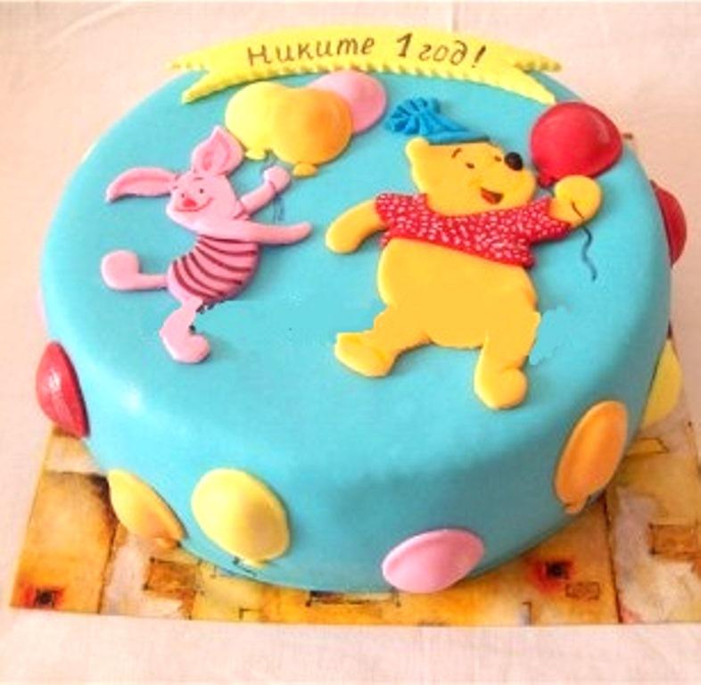 Торт пятачок фото