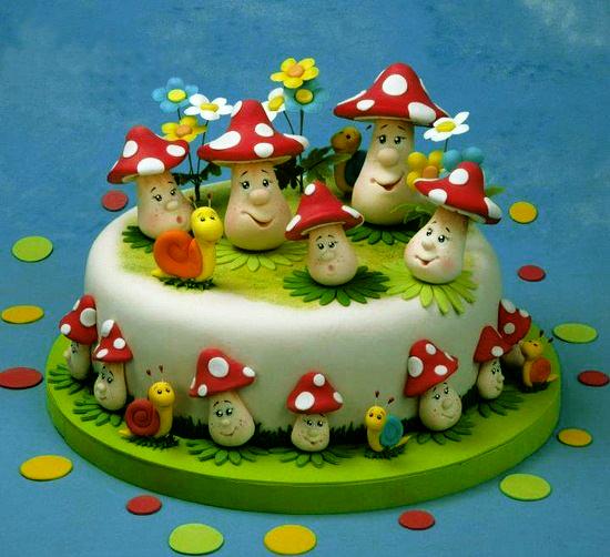 Фигурки на торт из мастики рецепт